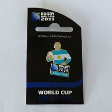 Rugby World Cup RWC 2011 Argentina Player Pin
