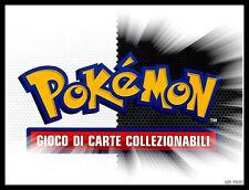 POKEMON LOTTO 100 CARTE MISTE ITALIANO INGLESE TUTTE DIVERSE