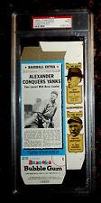 1969-70 Topps Bazooka #2 All-Time Greats PSA 9 MINT Baseball Card Complete Box