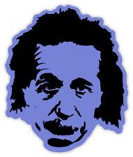 Albert Einstein etichetta sticker 10cm x 12cm