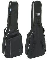 GEWA Economy 12 Konzert Gigbag schwarz / Tasche für Klassikgitarre, 12mm Polster
