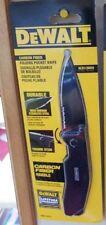 DeWalt Handtool DWHT10314 Carbon Fiber Folding Pocket Knife Retail Pack 100% NEW