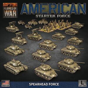 PREORDER Flames of War Late War USA Spearhead Force Bulge Army Box (USAB11)