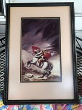 Michael Whelan NAPOLEON HOKA Fantasy Framed Signed Numbered Art Photo Print 1983