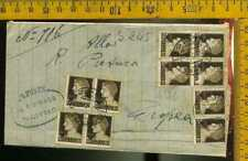 Luogotenenza busta piego  a 376 imperiale multiplo puro 10 cent