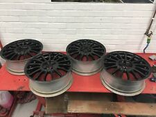 "MG ZR Alloy Wheels 4x100 17"" Black Fits Rover"