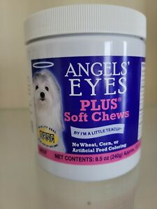 Angel Eyes Soft Chew Beef 120 Count | Natural Tear Stain Remover for Dogs