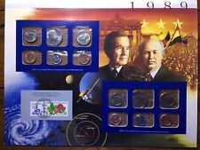 1989 Postal Commemorative Society - Complete Uncirculated Us Mint Sets