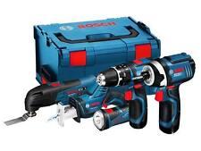 Bosch Pro 10 8v Blue Multi Tool Kit GSB GDR GSA GOP GLI 0615990ge9 3165140818650
