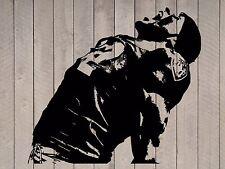 "Ray Lewis Baltimore Ravens Football Vinyl Wall Sticker Decal 44"" h x 48"" w"