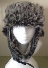 BNWT Blue Tartan Trapper Hat with Furry Lining