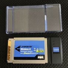 Linksys WPC54GS V2 Wireless G Notebook Network WiFi Adapter with SpeedBooster