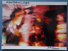 """J-P ETIENNE  - Photo    """" MANDRAGORE - PLANETE CURATIVE  """"  Signé"""