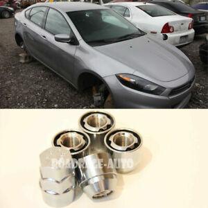 For Nissan Subaru Tuner Wheel Lock Nuts 12x1.25 Acorn Locking Bolts x4 Cone Seat