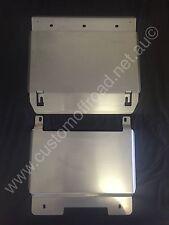 200 Series Toyota Landcruiser -  2 piece Stainless Steel Bash Plates 4mm