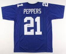 Jabrill Peppers Signed New York Giants Blue Jersey (JSA) Heisman Trophy Finalist