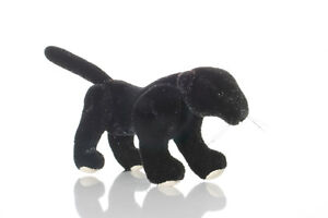 "World of Miniature Bears By Theresa Yang 3""x3"" Plush Leopard #5781-BK Leopard"
