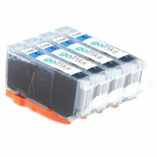 4 Cyan Ink Cartridges for Canon PIXMA MG8250, MX715, MX885, MX895