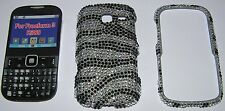 Bling case for SAMSUNG FREEFORM III 3 SCH-R380, two part snap together hard case