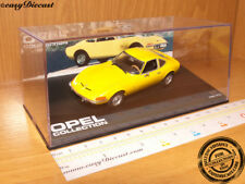 OPEL GT YELLOW 1968-1973 1:43 MINT WITH BOX ART!!!