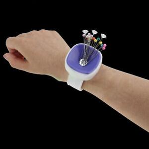 Sewing Magnetic Box Needle Pin Cushion Magnetic Catcher Neddlework DIY Wrist WN