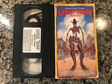 Ghost Town Vhs! 1988 Horror! (See) Dead & Buried & The Boneyard
