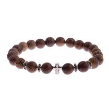 Wooden Cross Bracelets For Men