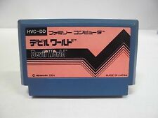 NES -- Devil World -- Famicom. Action. Japan game. Work to ensure!! 10371
