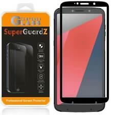 "Motorola Moto "" Z3 Play "" SuperGuardZ FULL COVER Tempered Glass Screen Protector"
