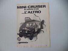 advertising Pubblicità 1980 DELTA MINI CRUISER MINICRUISER