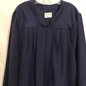 Jostens Graduation Gown Navy Blue Height 5'10 - 6'0