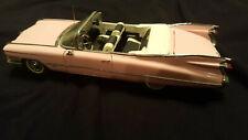 1959 Pink Cadillac Series 62 - Danbury Mint 1:24 - Diecast - w/ Box No Coa/Title