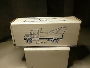 1935 MACK TOW TRUCK COLLECTOR'S SERIES #3 TOW TIMES DIECAST VEHICLE SCALE MODELS
