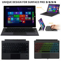 For Microsoft Surface pro3/pro4/pro5/pro6 Bluetooth 4.0 Wireless Keyboard Tablet