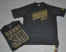 NWT Under Armour® Mens CURRY #30 MISSION ACCOMPLISHED Warriors Tee Shirt 2XL XXL