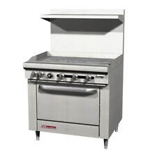 Southbend S36d 3g 36 S Series Gas Restaurant Range 1 Standard Oven 1 Griddle