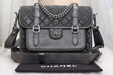 VERIFIED Authentic RARE Chanel Back To School Messenger Crossbody Flap Bag