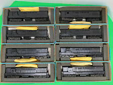 8 Athearn HO Blue Box FM Trainmasters – Undecorated Dummies