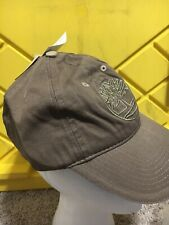 Timberland Kids Curved Hat Cap Shiitake/Gray Brand New Authentic Adjustable