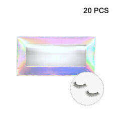 20pcs For False Eyelashes Packaging Holographic Lash Box Girls Traveling Women