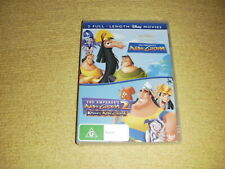 THE EMPEROR'S NEW GROOVE 2 walt disney DVD as NEW kids family kronk's R4