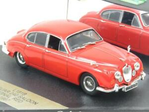 Vitesse Diecast L181B Jaguar 240 Saloon 1967 Signal Red 1 43 Scale Boxed