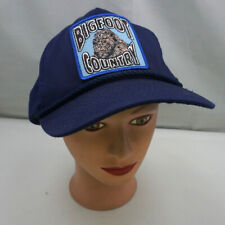 Big Foot Country Hat Blue Stitched Snapback Baseball Cap Pre-Owned ST216