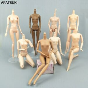 """1/6 Joint DIY Movable Nude Naked Doll Body For 1:6 BJD Dollhouse DIY Body 11.5"""""""