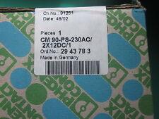 Netzteil Phoenix Contact CM 90-PS-230AC/2X12DC/1 - NEU, OVP - Phönix Kontakt
