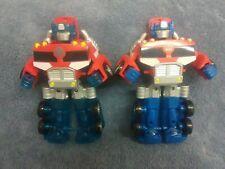 Transformers Optimus Prime Action Figure Lot (2)