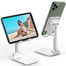 Supporto Porta Cellulare Tablet iPad Smartphone UNIVERSALE Regolabile da Tavolo
