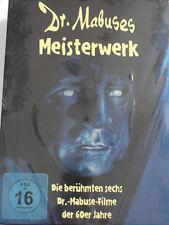 Mabuses Meisterwerk - 6 Filme Sammlung 60er Jahre - Testament, Stahlnetz, Mabuse