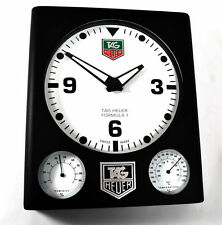 TAG HEUER FORMULA ONE 1 WATCH ADVERTISING DEALERS SHOWROOM DISPLAY WALL CLOCK