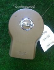 2005 - 2012 Nissan Pathfinder Xterra Frontier Lh Driver Wheel Airbag Tan 6 Cyl
